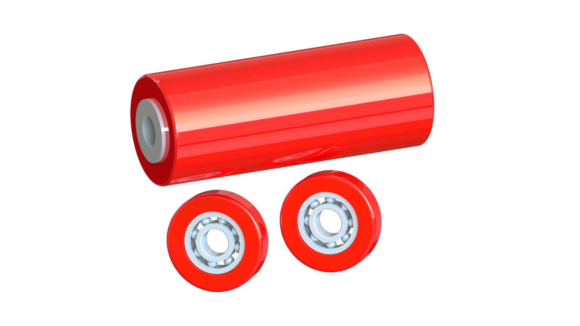 Polyurethane Rollers and Bearings